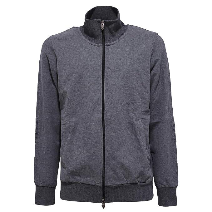 the latest 1ecce c954d Hydrogen 4531Y Felpa Uomo Grey Cotton Sweatshirt Man [L ...
