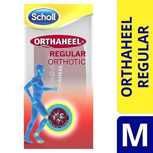 Scholl Orthaheel - Plantilla ortopédica de zapatos, talla S