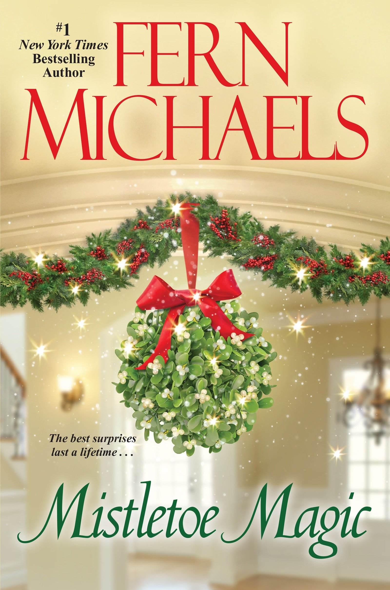 mistletoe magic fern michaels 9781420146820 amazoncom books