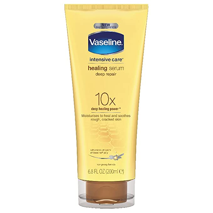 Vaseline Intensive Care Body Serum Lotion, Deep Repair, 6.8 oz