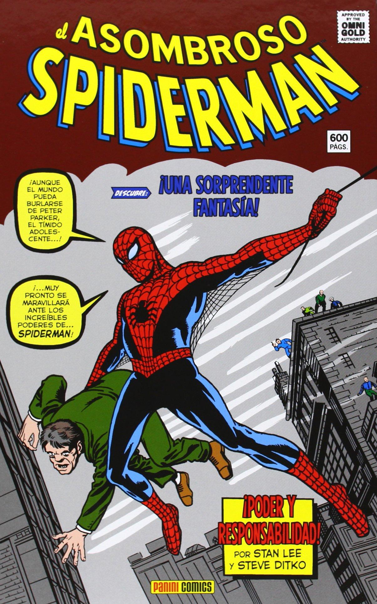 El Asombroso Spiderman. ¡Poder Y Responsabilidad! Marvel Gold: Amazon.es: Lee Stan: Libros