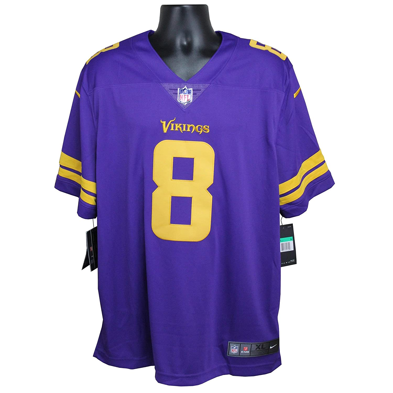 timeless design 6db2c 44ec2 Amazon.com: Kirk Cousins Autographed Minnesota Vikings ...