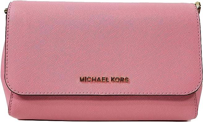 Michael Kors Jet Set MD Conve Pouchtte Crossbody Bag Misty Rose (35T8GTTU2L)