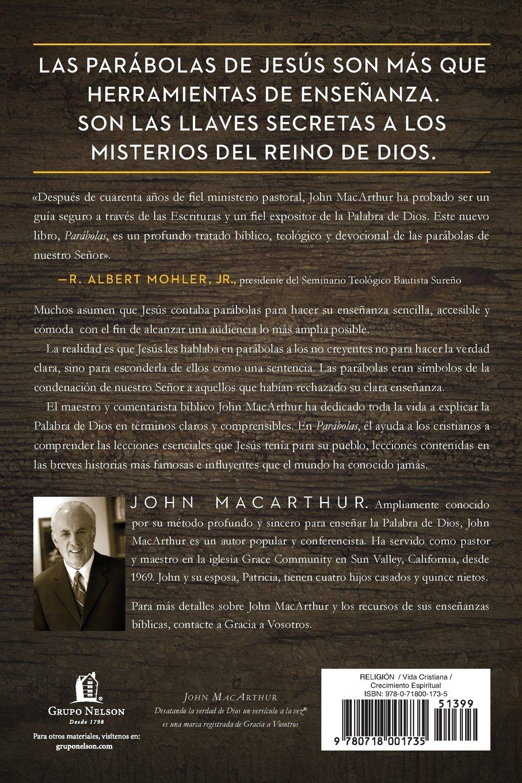 Parábolas: Los misterios del reino de Dios revelados a través de las historias que Jesús contó (Spanish Edition) by HarperCollins Christian Pub.