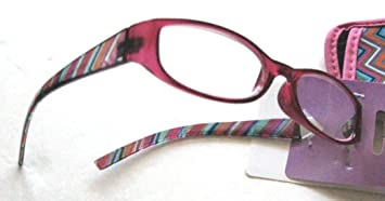 53f7e1f3e7 Image Unavailable. Image not available for. Color  Foster Grant EZ Reader  Rosita Pink Women s Reading Glasses ...
