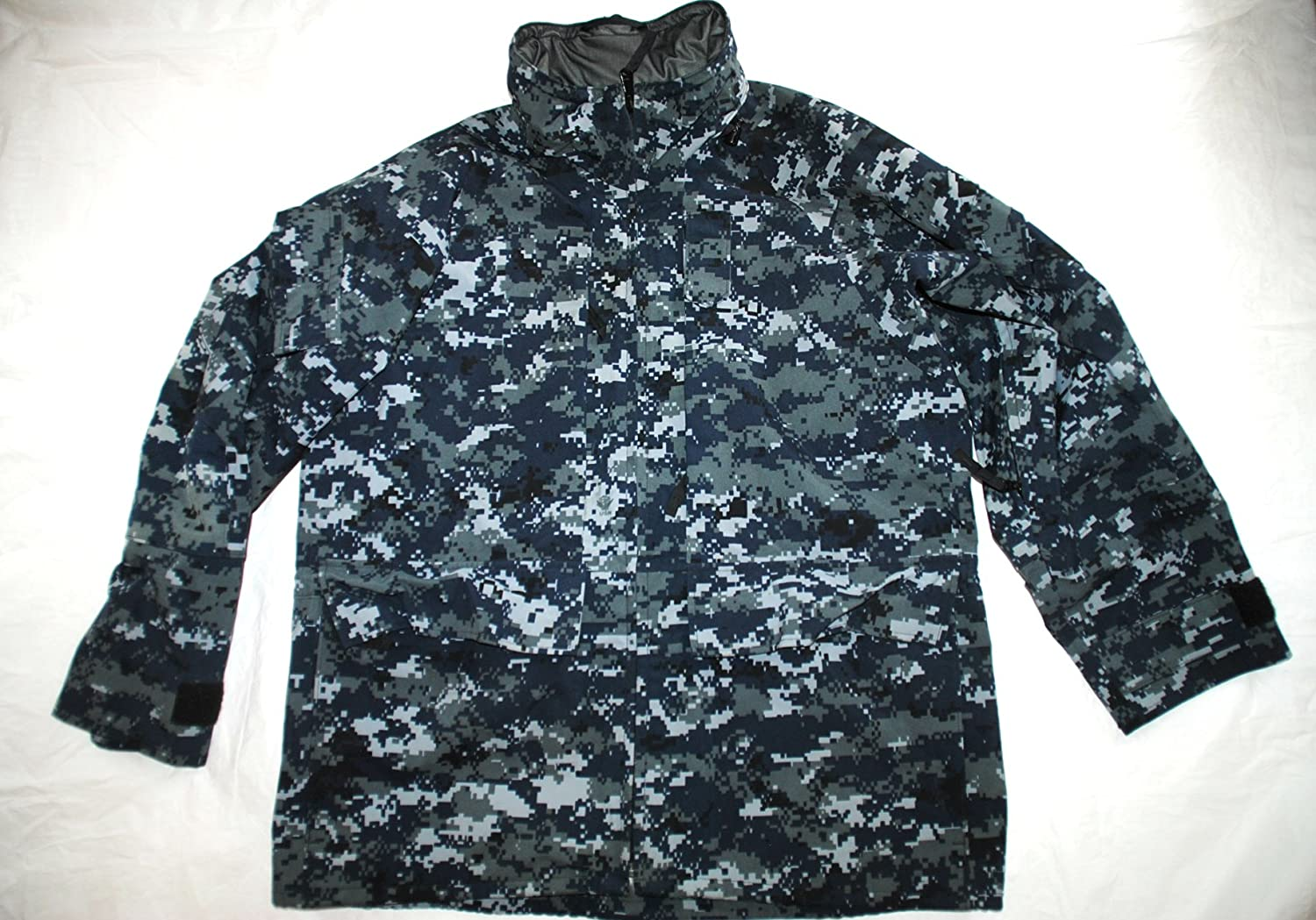 00b0a90616274 Amazon.com : Genuine Us Navy Nwu Ecwcs Gen II Cold/Wet Weather Gore Tex  Parka - Medium Short : Everything Else