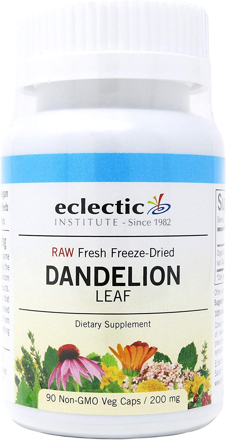 Dandelion Leaf Freeze-Dried - 90 - VegCap