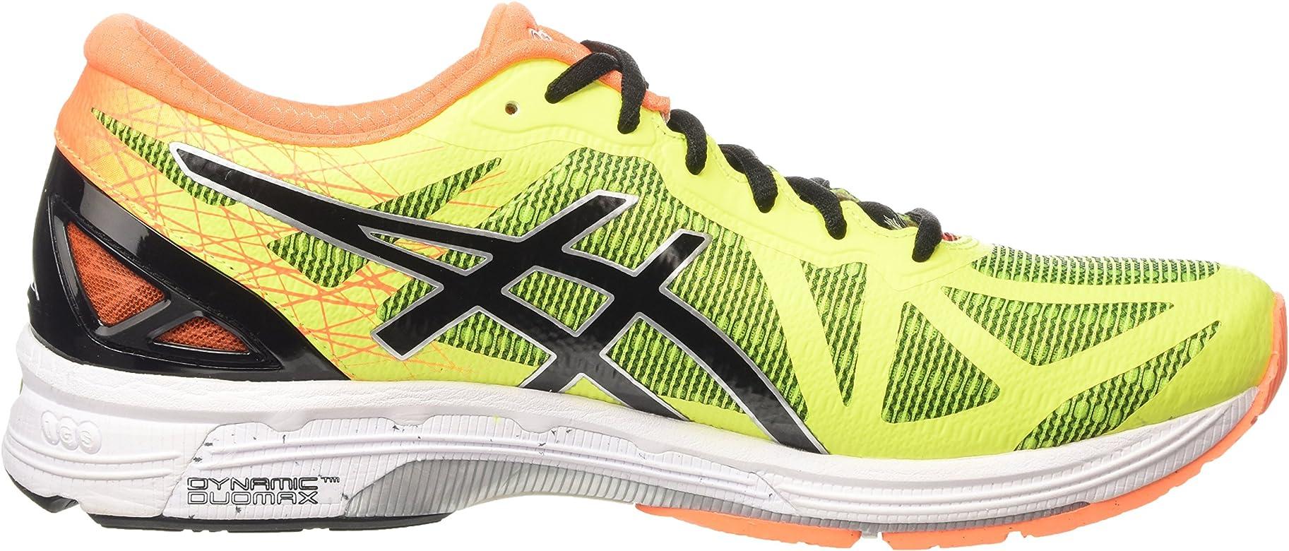 ASICS - Gel-DS Trainer 21, Zapatillas de Running Hombre, Amarillo (Flash Yellow/Black/Hot Orange 0790), 43.5 EU: Amazon.es: Zapatos y complementos