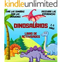 Libro de Actividades Dinosaurios: El juego de las