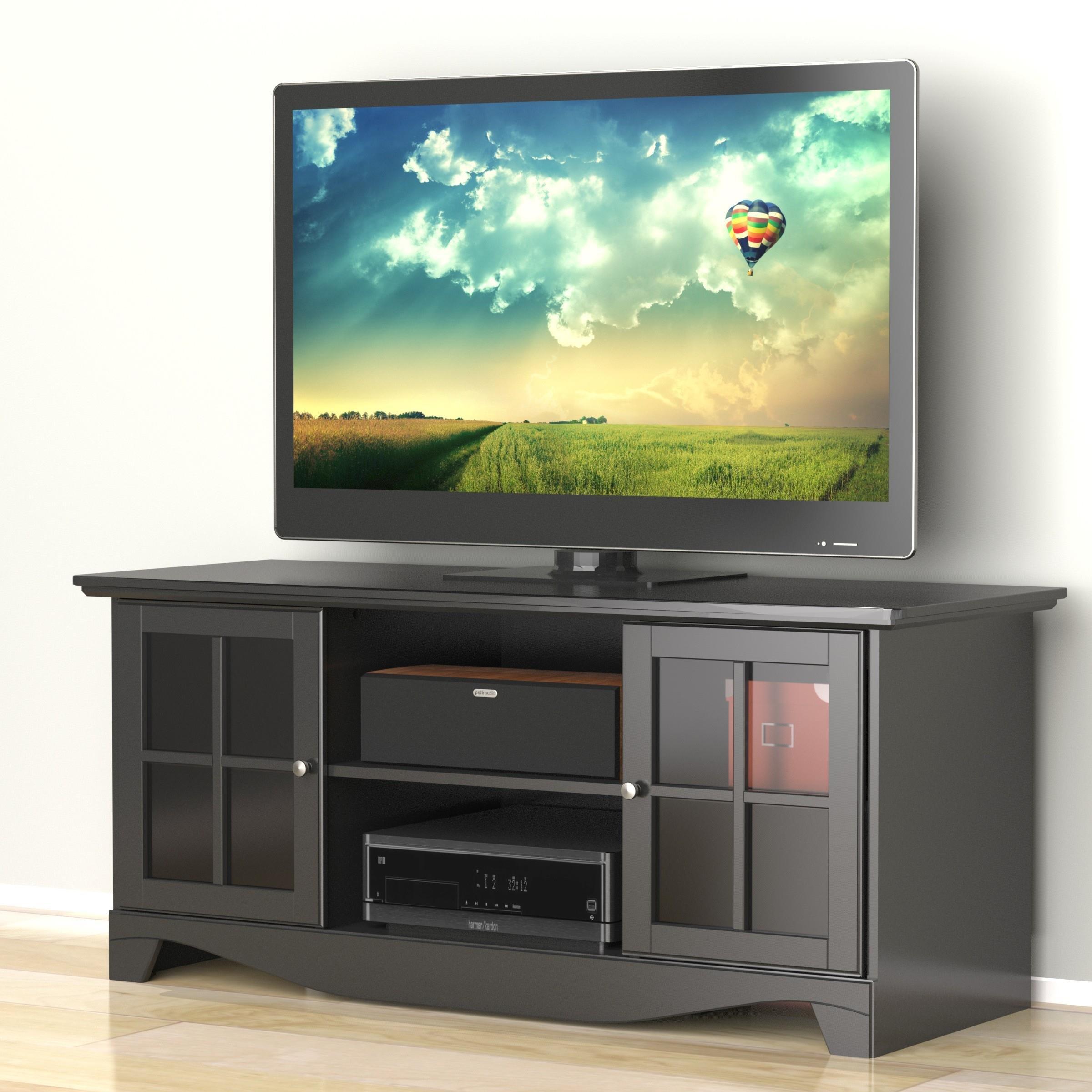Pinnacle 56-inch TV Stand 101206 from Nexera - Black