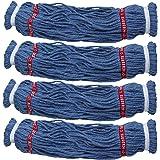 Rubbermaid Reveal Twist Action Mop Blended Yarn Head Refill 4 Pack