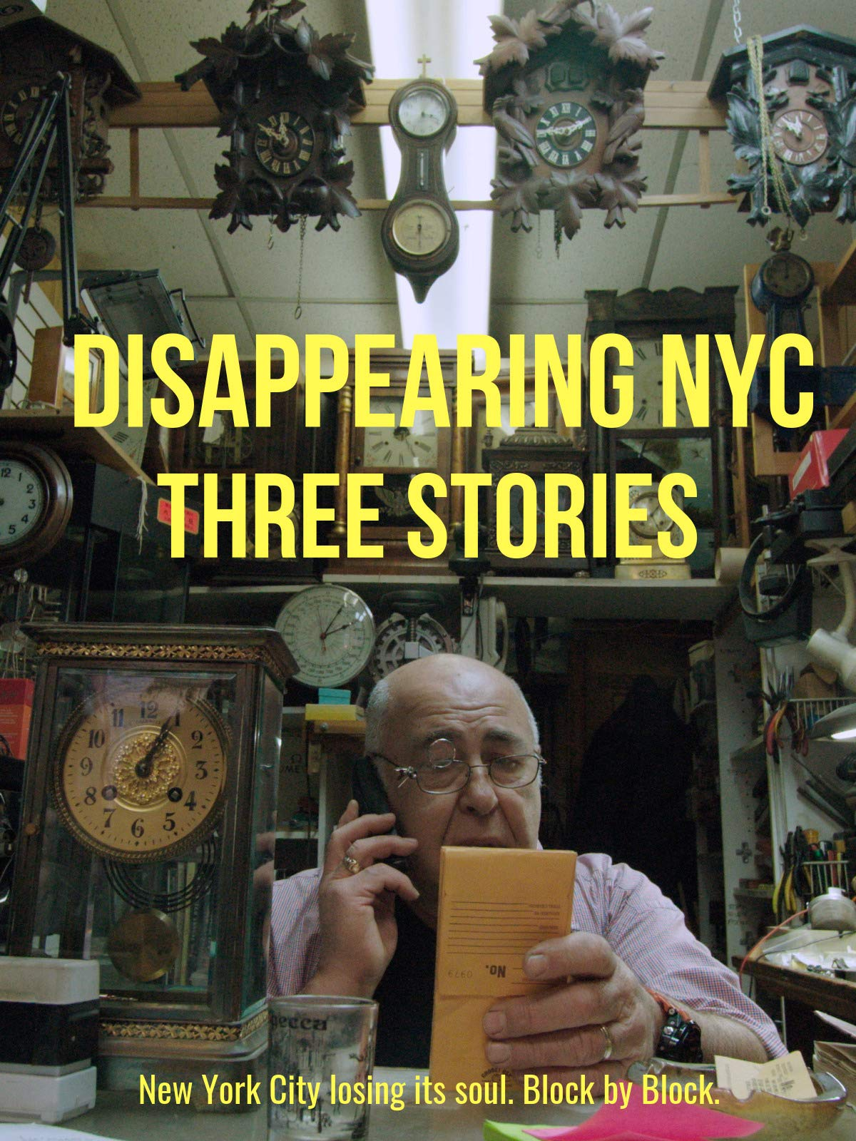 Disappearing NYC: Three Stories on Amazon Prime Video UK
