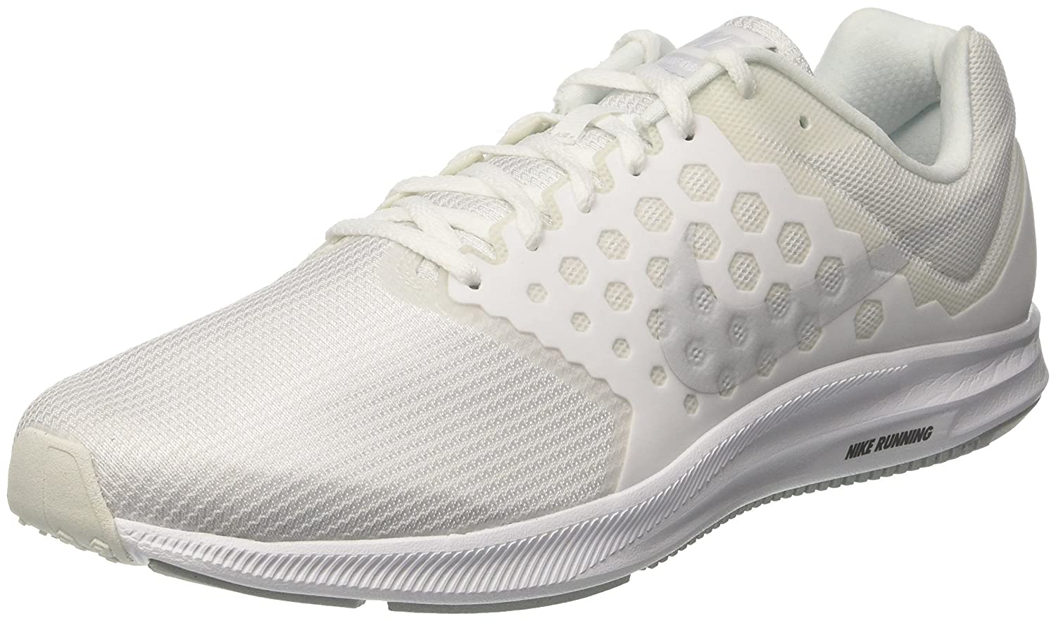 Nike Downshifter 7, Zapatillas de Running para Hombre 41 EU|Blanco (White/Pure Platinum)