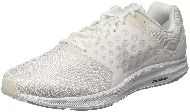 Blanc (Blanc Platinepur) Nike Downshifter 7, Chaussures de Running Homme 44 EU