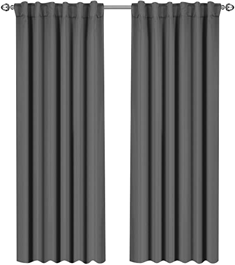 Utopia Bedding Blackout Room Darkening And Thermal Insulating Window  Curtains/Panels/Drapes   2
