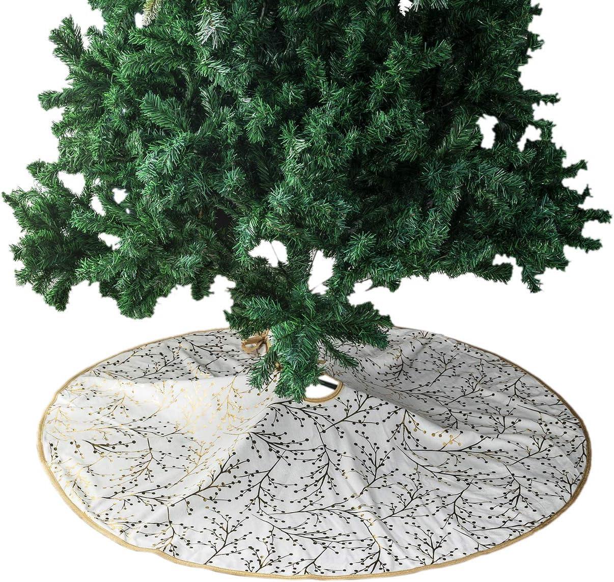 PICTURESQUE Pl/üsch Tannenbaum Decke Weihnachtsbaum Rock Weihnachten Dekoration