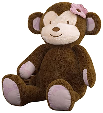 CoCaLo Jacana Plush Toy, Monkey (Discontinued by Manufacturer)