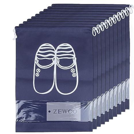 ZeWoo 10 Pack Scarpe Borse per Viaggiare 788e7e60158