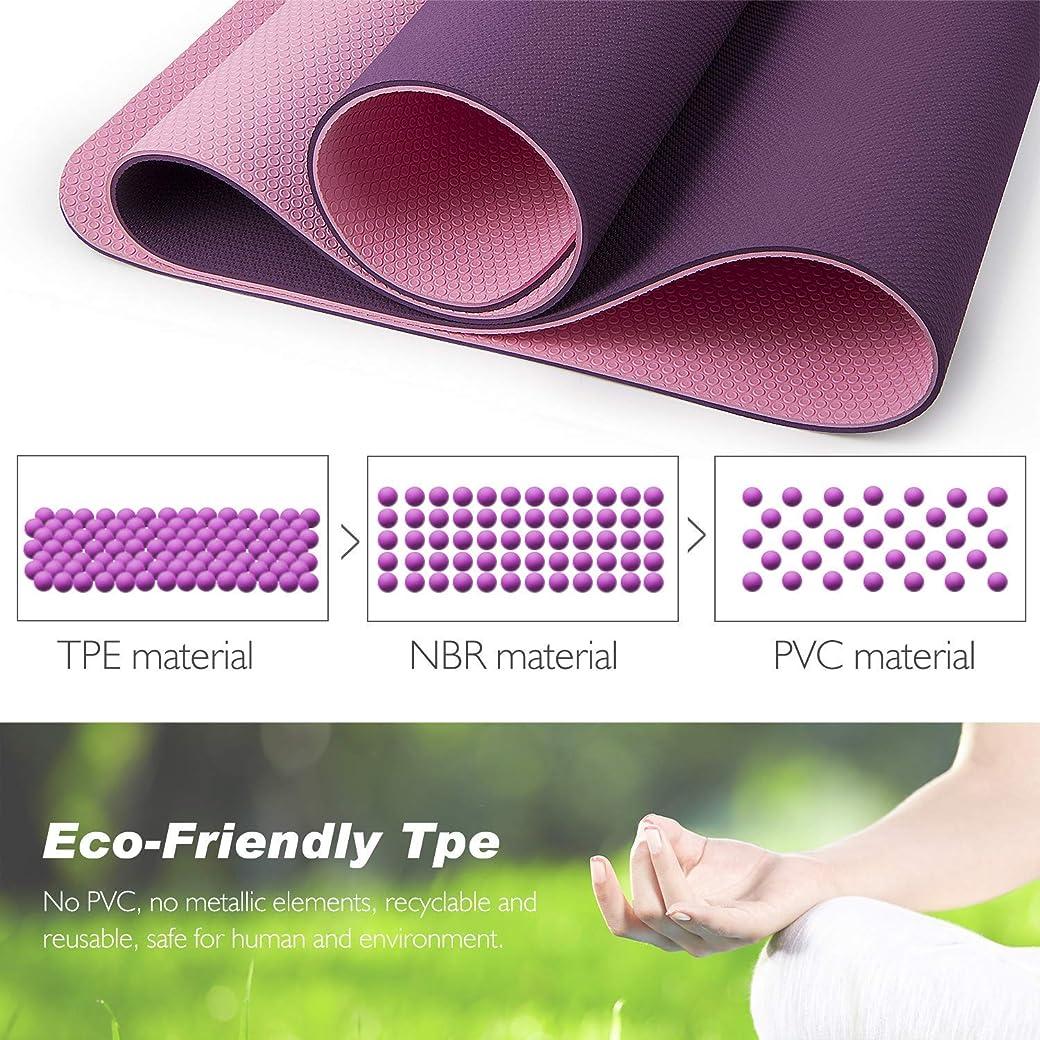 TOPLUS Esterilla Yoga Antideslizante - el mejor esterilla yoga antideslizante del mercado