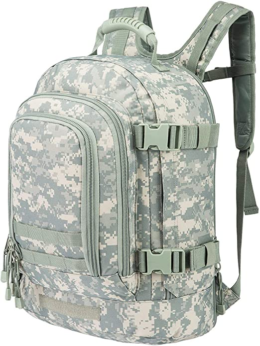 Tactical Parachute Fanny Pack Military Flight Style Camp Travel Bag Multi Color