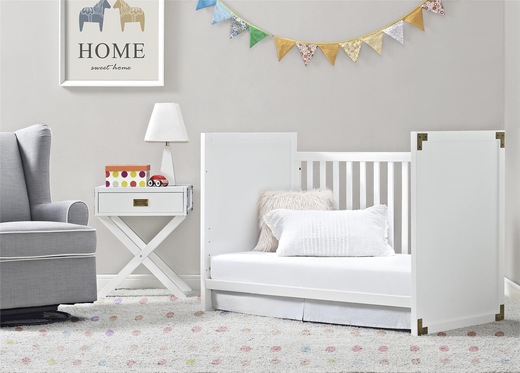 Baby Relax Miles Nightstand, White by Baby Relax (Image #5)