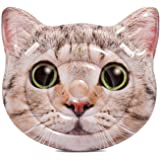 Intex Cat Face Inflatable Island, 58in x 53in, Multicolor, Model:58784EP