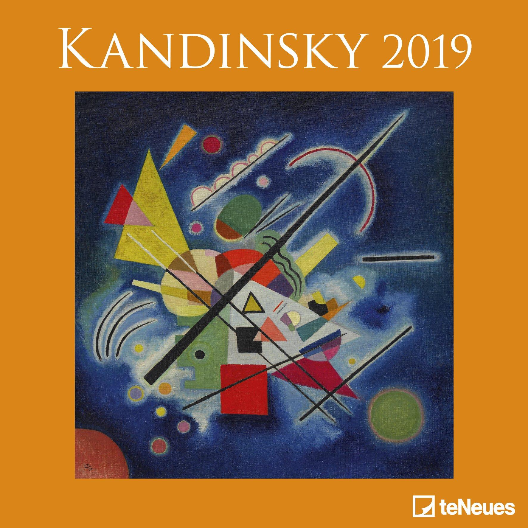 2019 Kandinsky Calender - teNeues Grid Calendar- Art Calender - 30 x 30 cm (Allemand) Calendrier – Poster Calendar, 15 juillet 2018 B077Z81HP9 Bildende Kunst Der Blaue Reiter Expressionismus