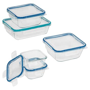Snapware Total Solution 10 Piece Glass Food Storage Set
