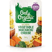 Only Organic Vegetable Macaroni Cheese Kindy 1-5 Years - 220g