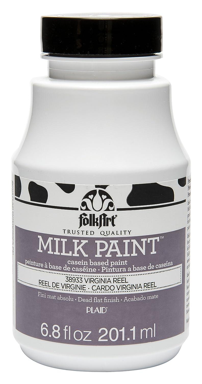 FolkArt Milk Paint Assorted Colors, 6.8 oz, Brass Buckle Plaid Inc. 38935