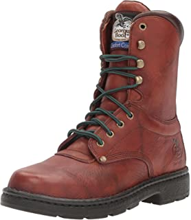 d2997b136df Amazon.com | Georgia Boot Farm and Ranch Lacer Work Boot ...
