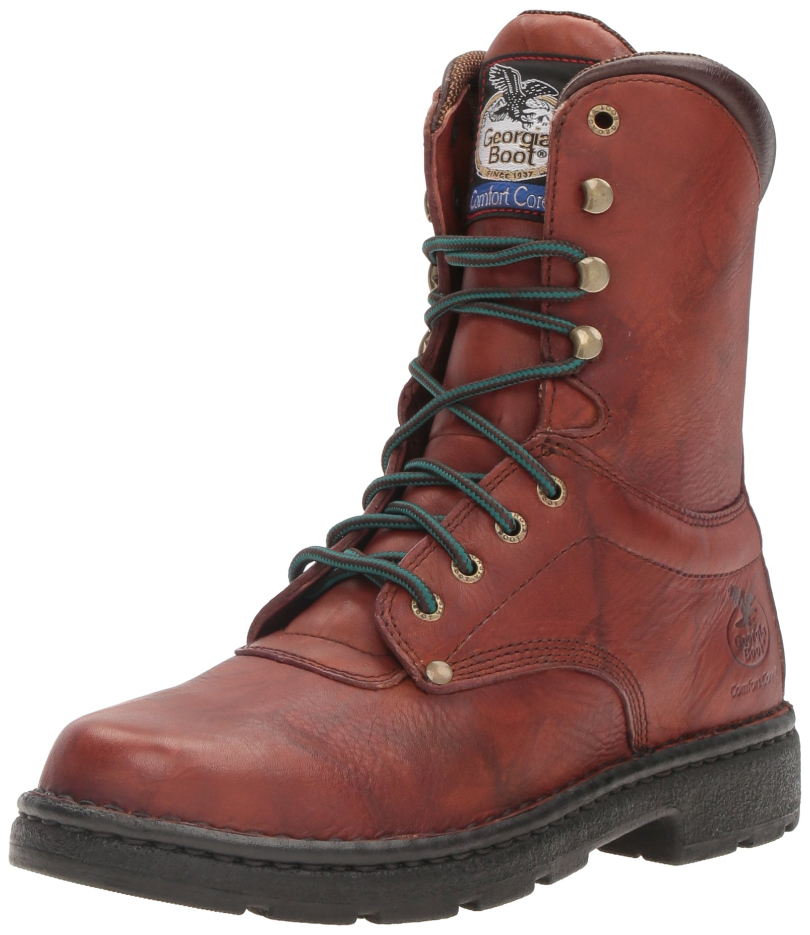 Georgia Boot Men's Renegade 8'' Work Boot,Brown,9 M