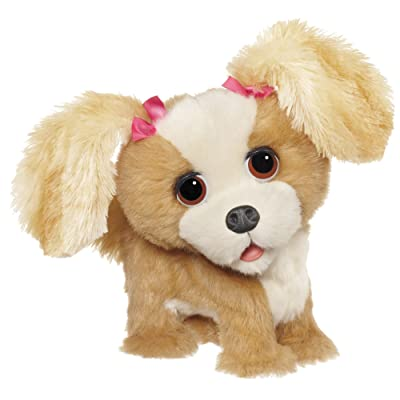 Furreal Friends Bouncy My Happy-To-See-Me Pup Figure: Toys & Games