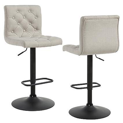 Astounding Amazon Com Ross Set Of 2 Contemporary Fabric Upholstered Evergreenethics Interior Chair Design Evergreenethicsorg
