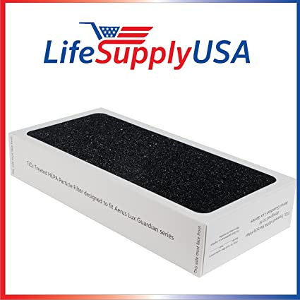 LifeSupplyUSA Replacement Particle Filter for Aerus Guardian TiO2 Air  Purifier