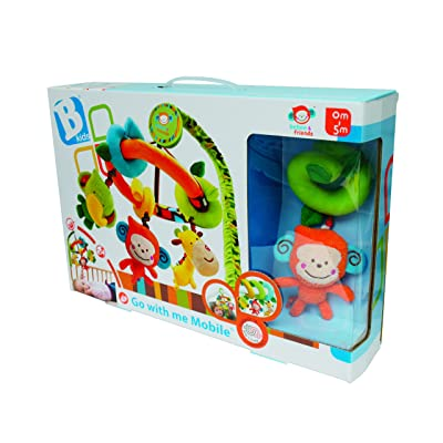 B kids Go With Me Mobile (Discontinued by Manufacturer) : Crib Toys : Baby