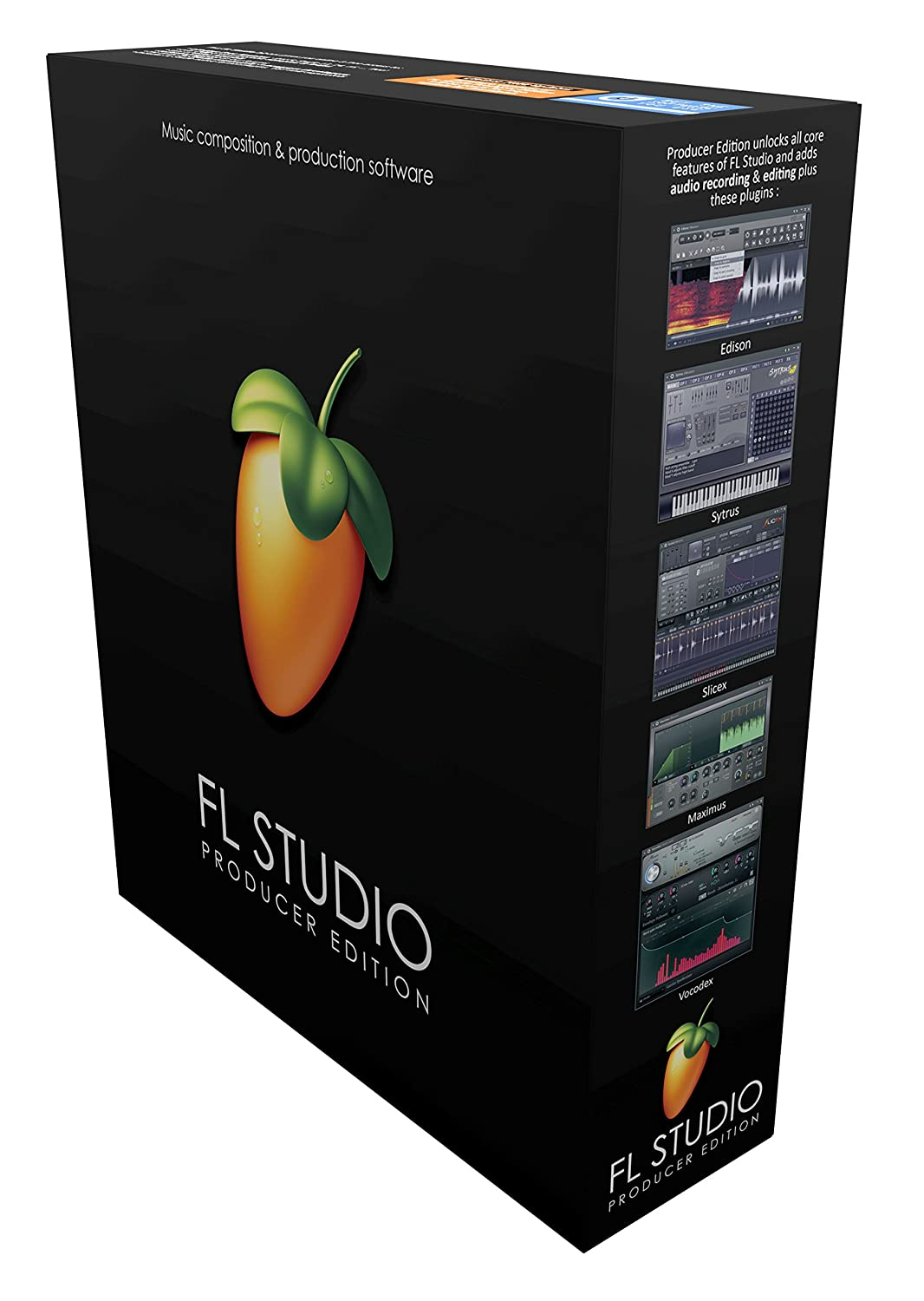 front facing image line fl studio 12