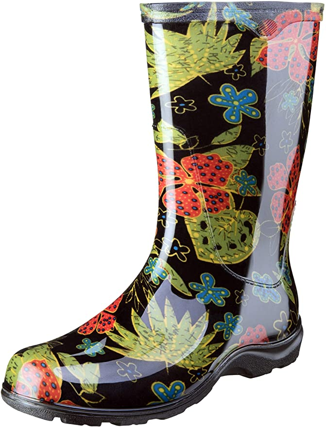 Sloggers Women's Waterproof Rain and Garden Boots - Best Gardening Boots