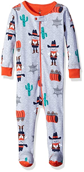 044425402 Amazon.com  Petit Lem Baby Girls  Cowboy Footed Pajamas