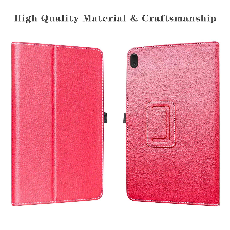 Black Lenovo Tab E10 Case,Labanema Stand Folio Case Cover for 10.1 Lenovo Tab E10 2018 Tablet