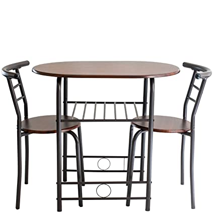 Amazon.com: Handi-Craft 725791821077 3 Piece Compact Dining Set with ...