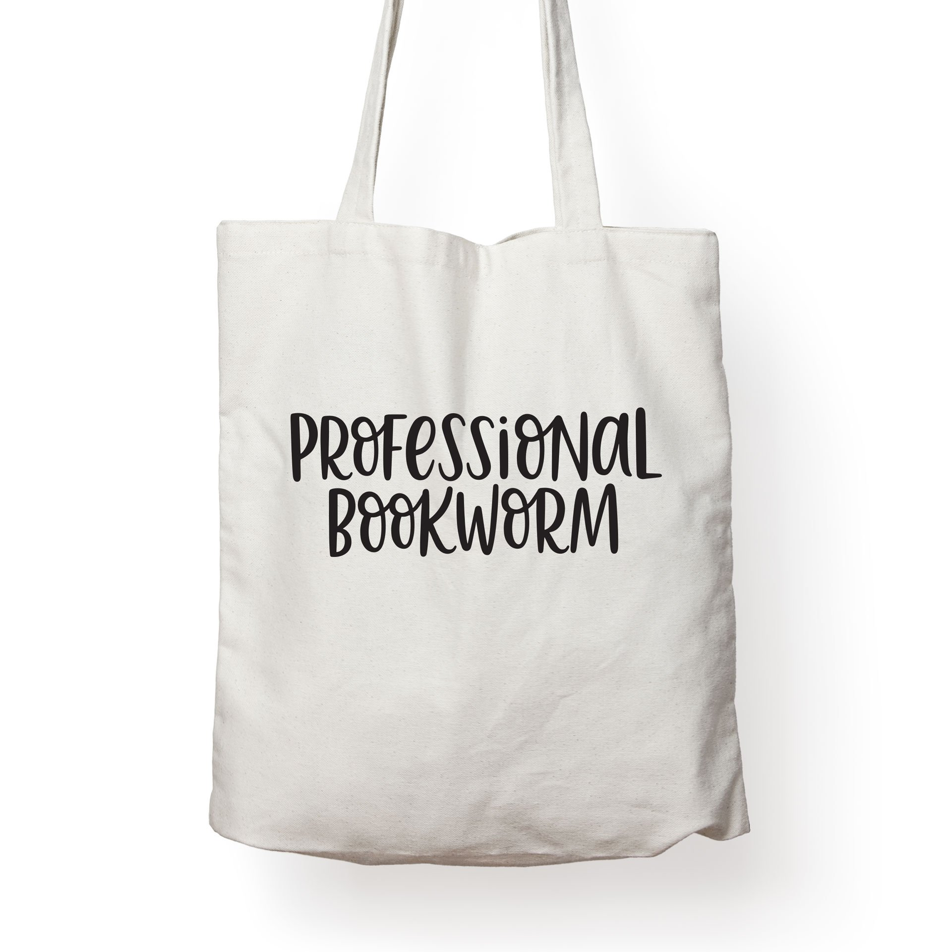 Folio Professional Bookworm - Canvas Tote Bag Ideal Book Gift! Readers Gift Your Favorite Bookworm Man Woman. Fun Literary Gifts Friends That Love Book Related Quotes Quote Totes …