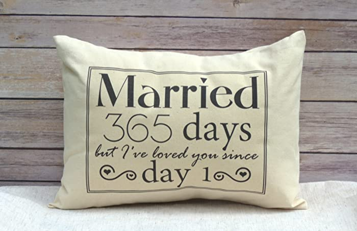 Amazon.com: 1st anniversary cotton gift anniversary married for