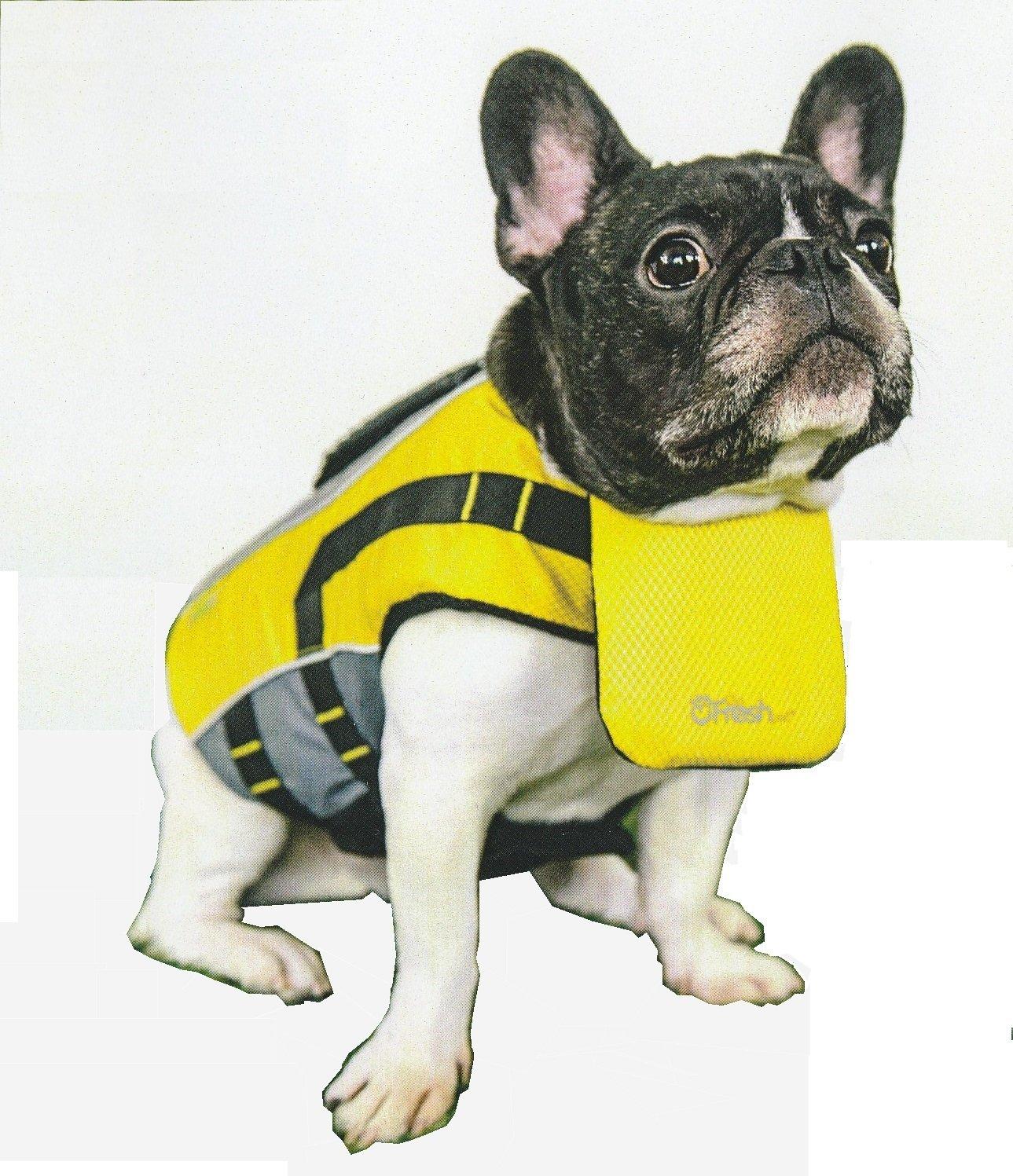 Go Fresh Pet Life Vest (Medium, Yellow)
