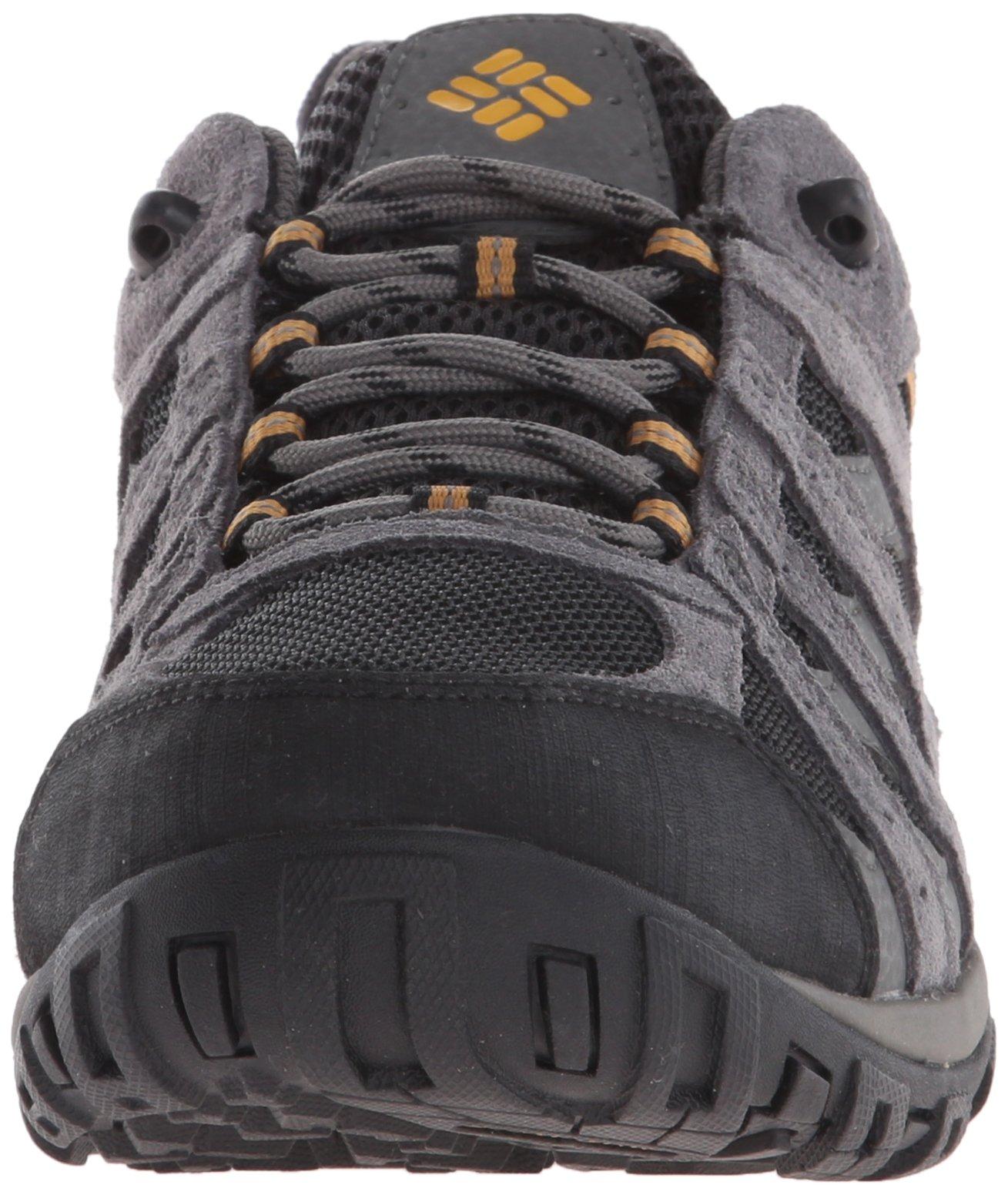 Columbia Men's Redmond Waterproof Hiking Shoe Black, Squash 7.5 D US by Columbia (Image #4)