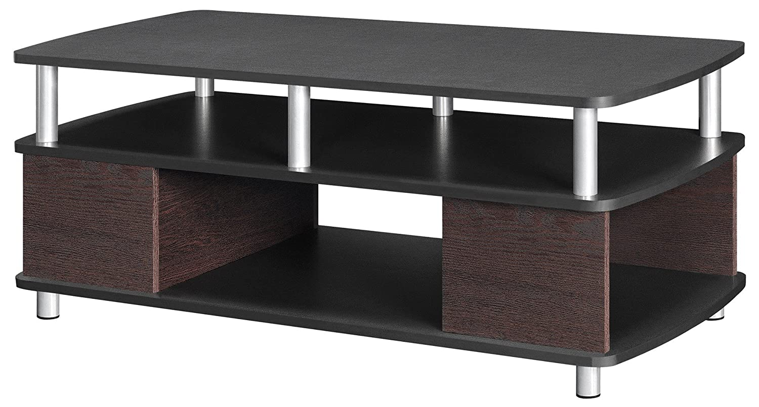 Cherry//Black Ameriwood Home Carson Coffee Table