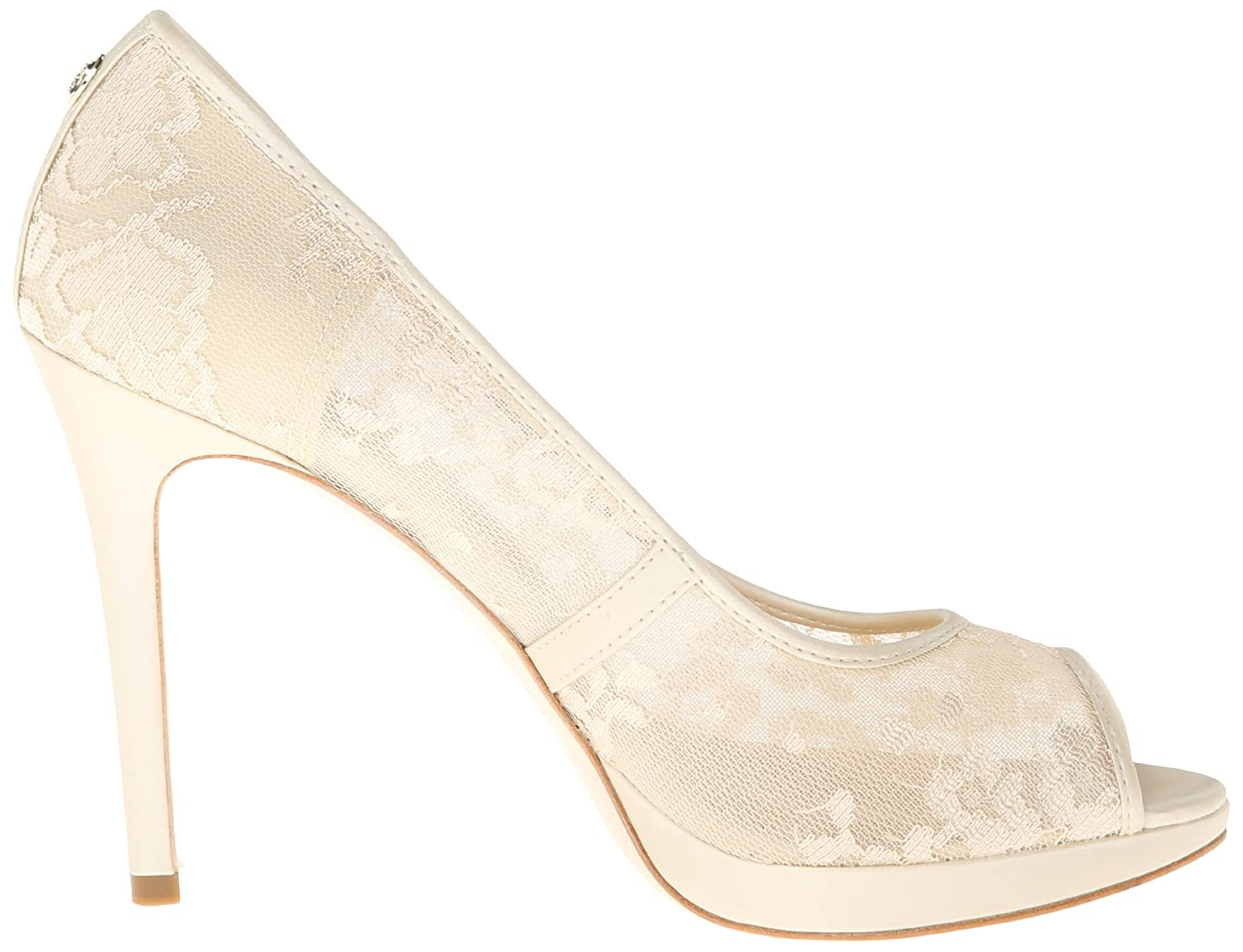 Amazon.com | Ivanka Trump Women's Maggie3 Platform Pump, Ivory, 10 M US |  Pumps