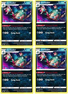 product image for Pokemon - Garbodor - Rebel Clash x4 Card Playset - 118/192 Rare