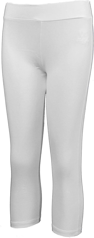 Leggings da Donna Crop Capri Pantaloni 3//4 Palestra Pedale Pushers Danza Spandex Cropped Allenamento Brody /& Co