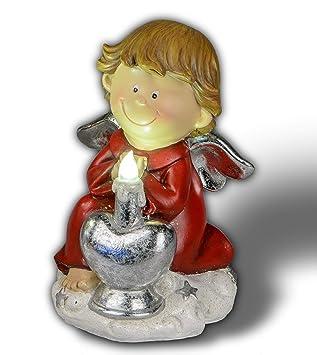 Itrr Formano Weihnachtsdeko Engel Mit Led Licht Ca 10x15cm Amazon